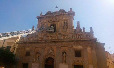 Castelvetrano, vandalismo: prese a sassate le finestre della Chiesa del Purgatorio