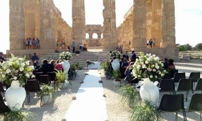 Nozze nel meraviglioso parco archeologico di Selinunte