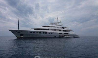 Yacht di 72 mt a Marinella di Selinunte