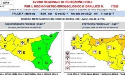 Maltempo verso il sud Italia. Le previsioni in Sicilia