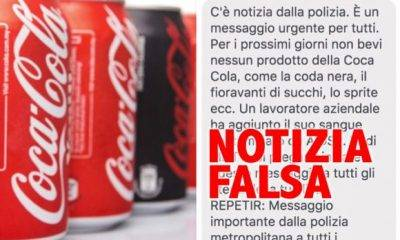 "STOP allarmismo: ""Coca Cola con HIV"" è una bufala"