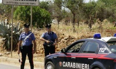 Due castelvetranesi arrestati in flagranza per furto