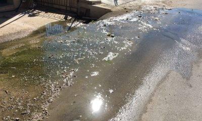 [Video] Una perdita d'acqua che dura dal mese di Giugno. Selinunte 3