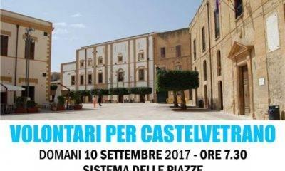 """Tornano in piazza i """"pulizieri volontari"""" di Castelvetrano"""