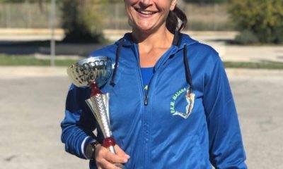 Rosa Salvo una casalinga campionessa provinciale di atletica