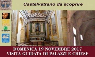 """Il 19 novembre torna """"CASTELVETRANO DA SCOPRIRE"""""""