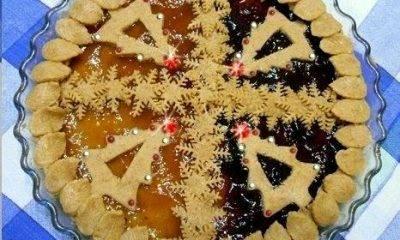 [Ricetta] Un'idea semplice per il Natale, crostata bicolore