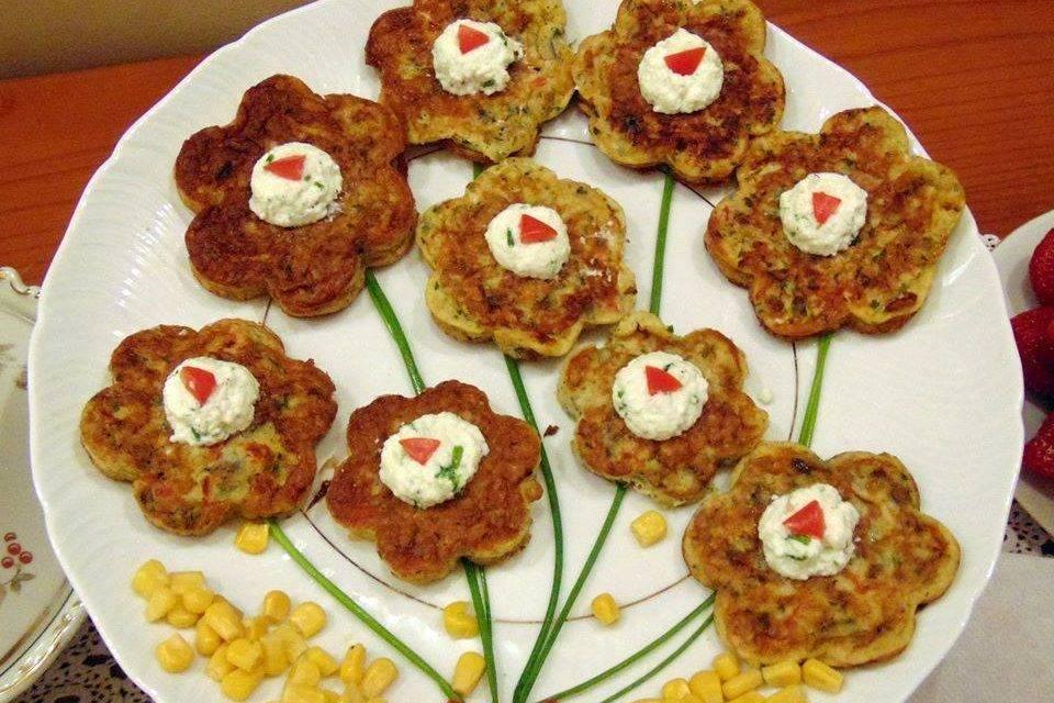 Arte in cucina: Frittatine farcite alle erbe