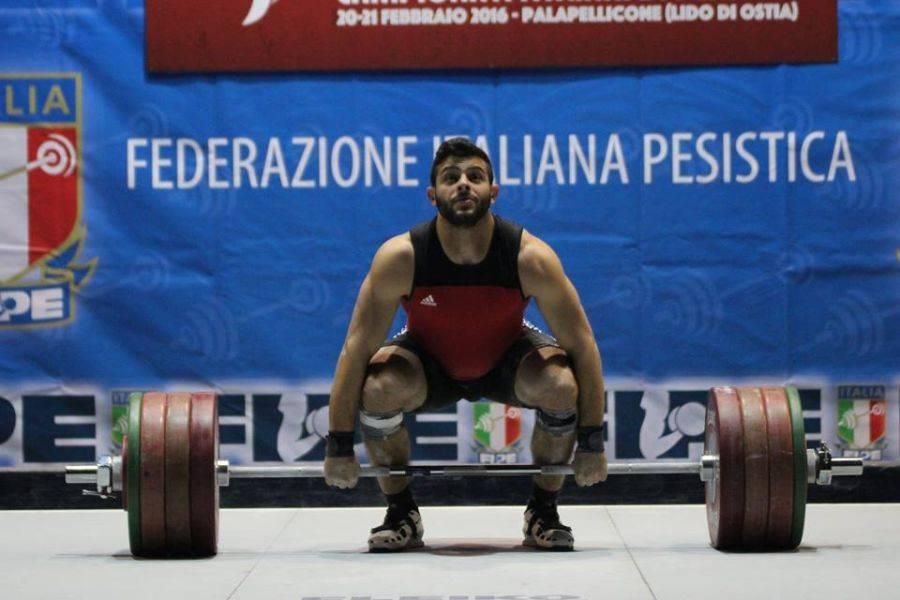 Campionati Italiani Assoluti di Pesistica: Trionfo per Nino Pizzolato e record di slancio 201 kg