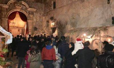 "Grande affluenza al ""Presepe Vivente a Palazzo Quidera"" a Castelvetrano"