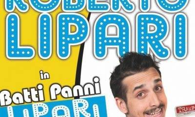 """""""Roberto Lipari Live Show"""" a Santa Ninfa"""