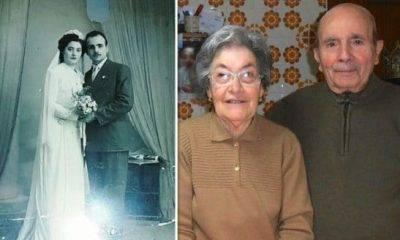 Nozze da record per i coniugi Cerniglia, 70 anni insieme