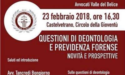 Castelvetrano, dell'Associazione Avvocati Valle del Belice
