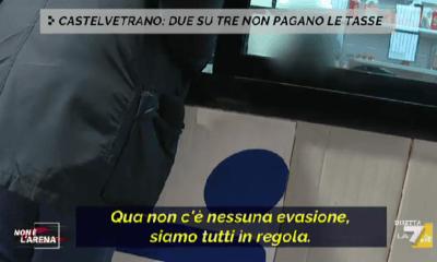 """Castelvetrano e Il servizio andato in onda  su LA7 a """"Non è l'Arena"""" di Massimo Giletti"""