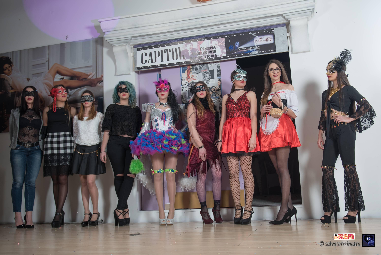 """Grande partecipazione al """"Capitol"""" di Castelvetrano per il concorso di bellezza """"Miss Mascherina 2018"""" 1"""
