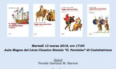 """Al """"G. Pantaleo"""" di Castelvetrano, incontro con Sebastiano Tusa"""
