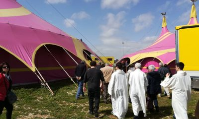 Benedizione animali e artisti del Circo Lidia Togni a Castelvetrano 3