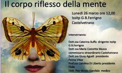 """Castelvetrano, conferenza sul disagio giovanile e sui fenomeni di autolesionismo al """"Ferrigno"""" Castelvetrano"""