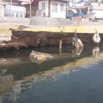 Cede banchina del porticciolo di Marinella di Selinunte 3