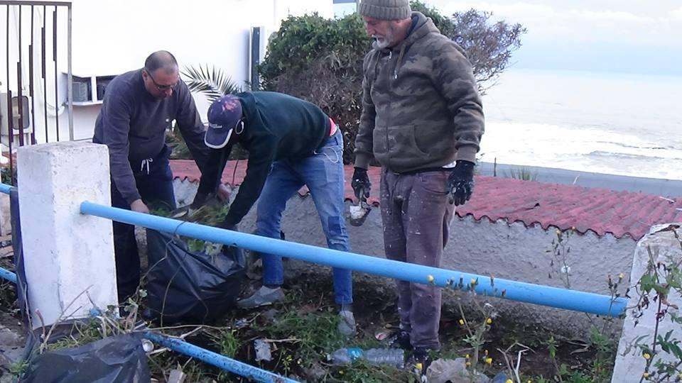 Marinella di Selinunte: Lo staff del Pierrot e Baffo's family ripuliscono buona parte del borgo
