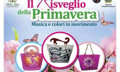 """Campobello, le borse di Palma Vitae contro la violenza sulle donne sfilano nel """"Risveglio della primavera"""" 1"""