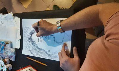 """Castelvetrano, successo per l'Apericena con disegno dal vero organizzato dall'associazione """"Virgo A"""" 1"""