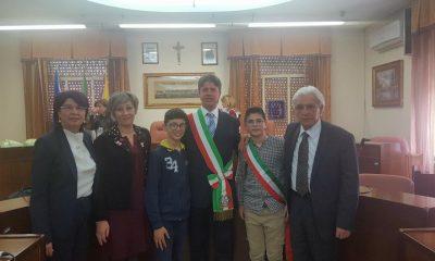 Il 12enne Vincenzo Barruzza è il nuovo baby sindaco di Campobello