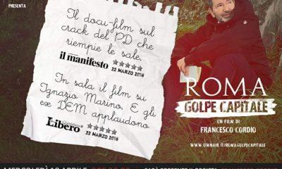 Roma golpe capitale il docu-film sulle vicende dell'ex sindaco Ignazio Marino