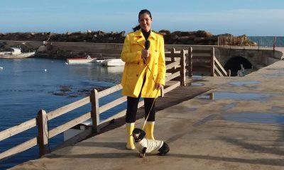 Stefania Petyx al Porto di Marinella di Selinunte - [Il servizio