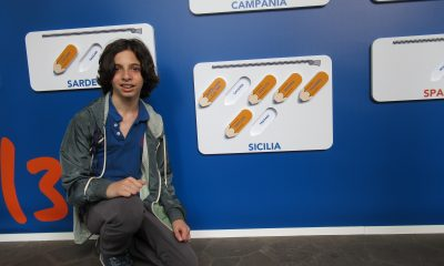 ANDREA TODISCO, alunno della scuola E. Medi, alle Finali di Milano dei Campionati Internazionali di Giochi Matematici