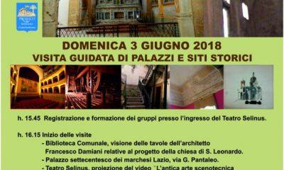 """Domenica, """"Castelvetrano da scoprire"""": visita guidata di palazzi e siti storici"""