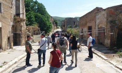 Il Gruppo Archeologico Selinunte presente oggi alla manifestazione «Viaggio tra i ruderi». Trekking nei siti di Poggioreale, Salaparuta, Gibellina e Santa Ninfa 7