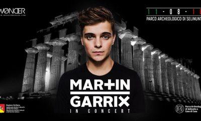 Martin Garrix, 11 agosto al Parco Archeologico di Selinunte