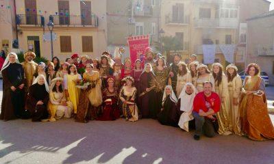 Successo del Corteo Storico di Santa Rita oggi a Campofranco