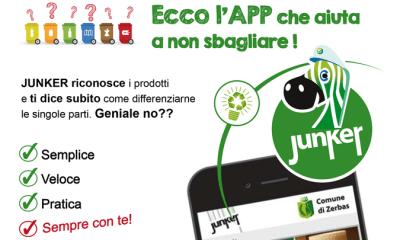 A Campobello arriva Junker, l'app che aiuta i cittadini a differenziare i rifiuti 1