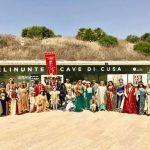 """Tanti i turisti affascinati dal """"flash mob"""" al Parco Archeologico di Selinunte organizzato dal Corteo Storico di Santa Rita 1"""