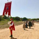 """Tanti i turisti affascinati dal """"flash mob"""" al Parco Archeologico di Selinunte organizzato dal Corteo Storico di Santa Rita 2"""