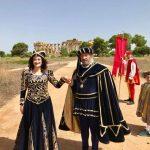 """Tanti i turisti affascinati dal """"flash mob"""" al Parco Archeologico di Selinunte organizzato dal Corteo Storico di Santa Rita 3"""