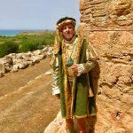 """Tanti i turisti affascinati dal """"flash mob"""" al Parco Archeologico di Selinunte organizzato dal Corteo Storico di Santa Rita 8"""