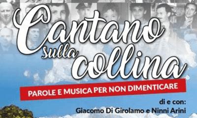 """A Torretta Granitola, martedì 21 agosto, in scena """"Cantano sulla collina"""" di Giacomo Di Girolamo e Ninni Arini 1"""