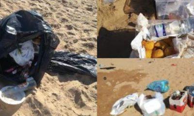 Triscina, resti di falò sulle spiagge e rifiuti per Ferragosto
