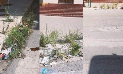 """Castelvetrano, """"strisce pedonali fantasma"""" e degrado nei pressi delle scuole 9"""
