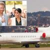 Jet privato con a bordo il principe Harry e Meghan Markle colpito a mezz'aria da un fulmine