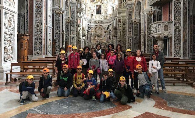 """Alunni della """"L. Radice Pappalardo"""" in visita a Palermo per """"Le Vie dei Tesori"""""""