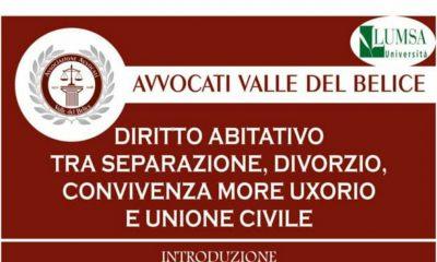 Castelvetrano, convegno in materia di diritto di famiglia promosso dall'Ass. Avvocati Valle del Belice