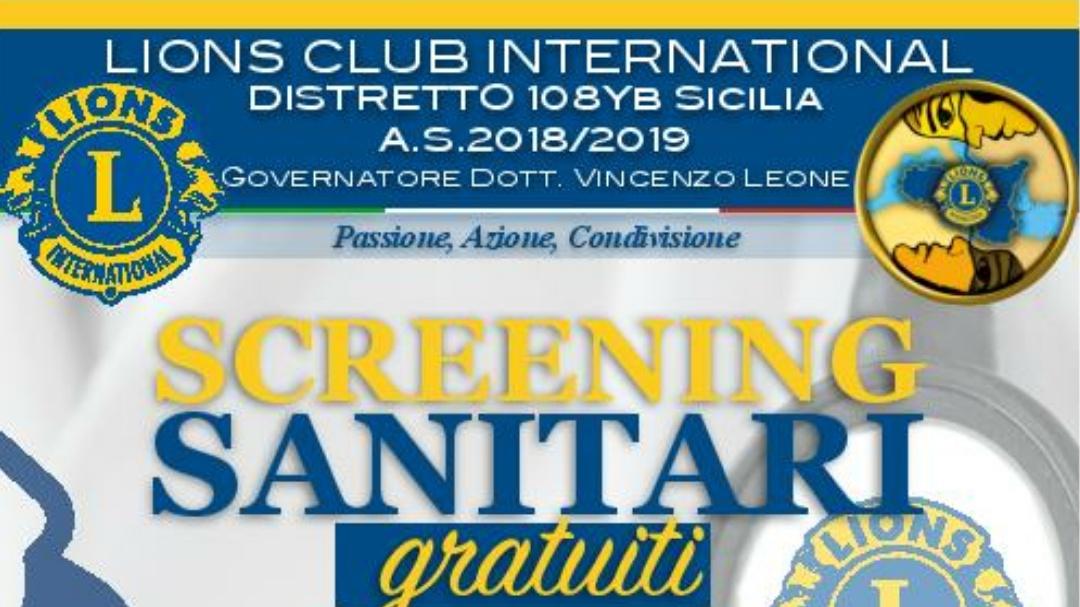 Lions Club di Castelvetrano, screening gratuito per il diabete