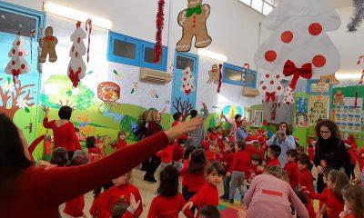 Al II Circolo Ruggero Settimo si è festeggiato il Christmas Jumper Day