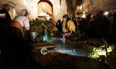 Grandissima affluenza per l'inaugurazione del Presepe Vivente a Palazzo Quidera 11
