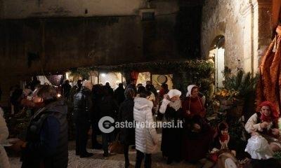 Grandissima affluenza per l'inaugurazione del Presepe Vivente a Palazzo Quidera 5