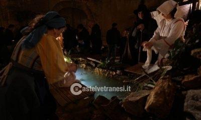 Grandissima affluenza per l'inaugurazione del Presepe Vivente a Palazzo Quidera 6